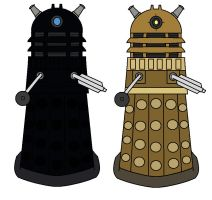 Daleks by Percyfan94