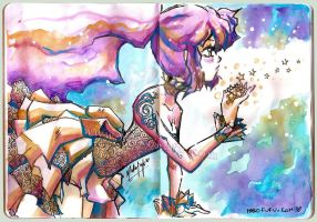 SketchBookProject .:Stars:. by Mako-Fufu