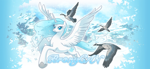 Apricity: Winter Flight by albinosharky