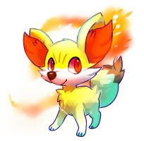 New pokemon Fennekin by Pand-ASS