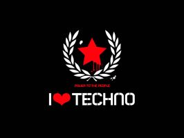 I LOVE TECHNO by hardtekno101