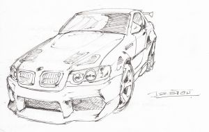 BMW M3 E46 :D by Pipeextile92