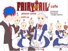 fairy tail oc cafe collab open by demonxslayer12