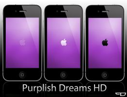 Purplish Dreams HD Wall-Pack by PhilDesire