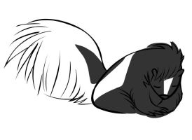 Murphy the Skunk by Marji4x