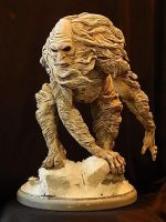 Abominable Snowman Finished by Blairsculpture
