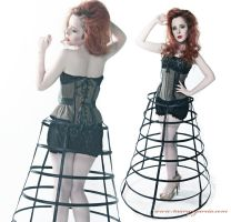 Exclusive Antique underbust I by Miss-SelfDestructive