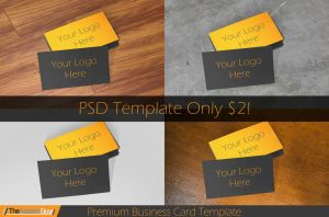 Premium Business Card Template by TheApparelGuy