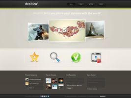Desitico Webdesign by ejsing