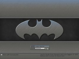 Batman Dark for Bench Slim by Jetsetter