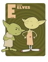 E is for house Elves by jksketch