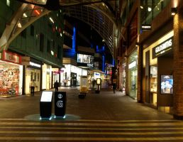 Cabot Circus at Night by gee231205