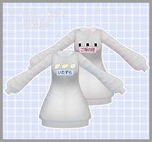 Cute Female Sweaters [DOWNLOAD]  Thanks for 600! by Aia-Aria