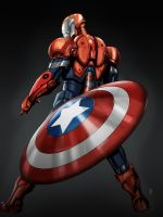 Iron Patriot - Norman Osborn by tjodalv00