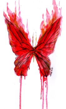 THE FIRE AND BLOOD BUTTERFLY by i-kie