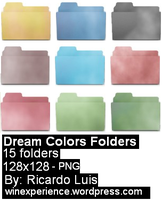 Dream Colors Folders by RicardoLuis