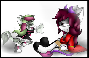 .:Art Trade:. Faded Memories by Jewel-Shapeshifter