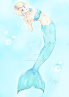 Mermaid tail idea (#2) by Mermaid-Melly
