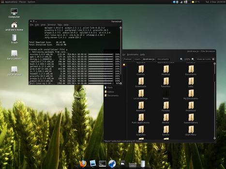 Arch Linux by koreansensation