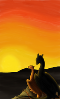 Pern - Sunrise, Sunrise by Wolf-In-The-Walls