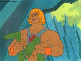 He-Man Production Cel by AnimationValley