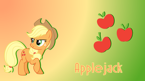 Applejack Wallpaper by grape-qt