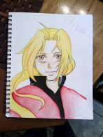 Edward Elric by CrystalizedBlood