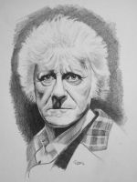 Dr Who 3 - Jon Pertwee by russraff