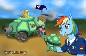 Rainbow Tank and Tank 2 by Sword-of-Akasha
