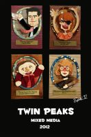 Twin Peaks Characters by TheartofSpitz