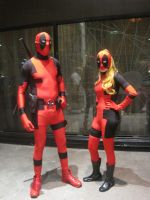 TEAM DEAD POOL by WhiteFox89