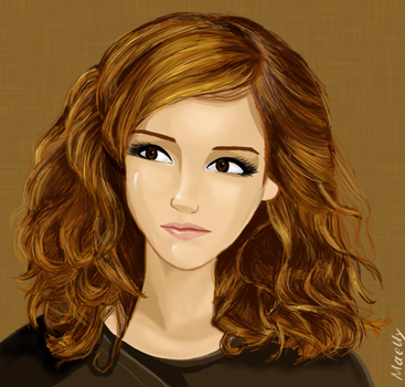 hermione granger by blastedgoose