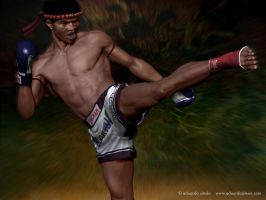 kickboxer by edusimon
