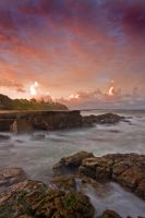 Swirling Waters - Mooloolaba by eye-of-tom