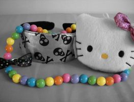 Hello Kitty Rainbow by Yumpop82