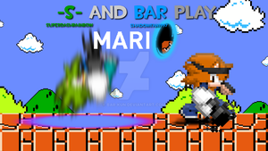 Bar and -S- play portal by Bar-Kun