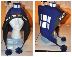 Dr. Who Tardis hoods by Kieshar