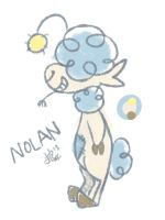 OC: Nolan the Sheep by 0okami-Rei