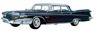 After the age of chrome and fins: 1960 Imperial by Peterhoff3