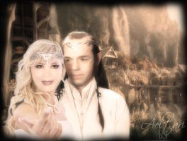 Lord and Lady of Rivendell by Aeltari