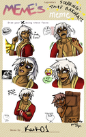 THIEF BAKURA MEMEFACE by Kaek01