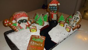 League of Legends Gingerbread Entry C by SapphireStar4eva