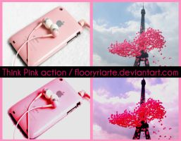 think pink action-by floor by FloorYriarte