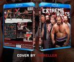 WWE Extreme Rules 2015 Custom BluRay Cover by TheReller