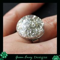 Hollows: Silver Seedbeads by green-envy-designs