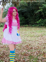 Pinkie Pie cosplay - SHOT 01 by jovialHarlequin