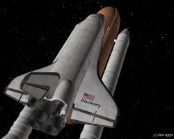 Shuttle Discovery Wallpaper by dragonriderduo