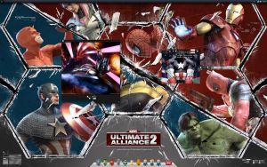 Marvel Ultimate Alliance 2 by Del11boy
