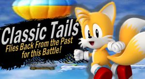Classic Tails SSB4 Request by Elemental-Aura