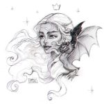 The Mother of Dragons by darkodordevic